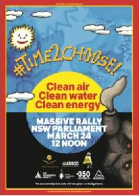 March for Clean Air, Clean Water, Clean Energy