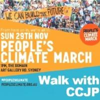 Join CCJP at the climate march this Sunday PCMsmall1